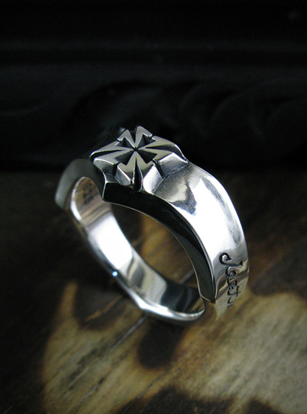 Destiny Ringlet silver ring